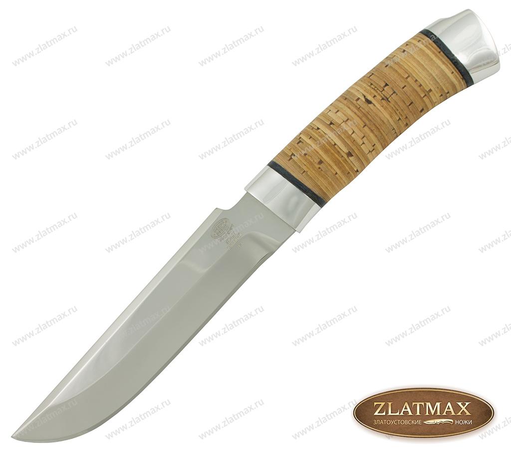 Нож Н3 Гумбольт (40Х10С2М, Наборная береста, Алюминий) фото 01