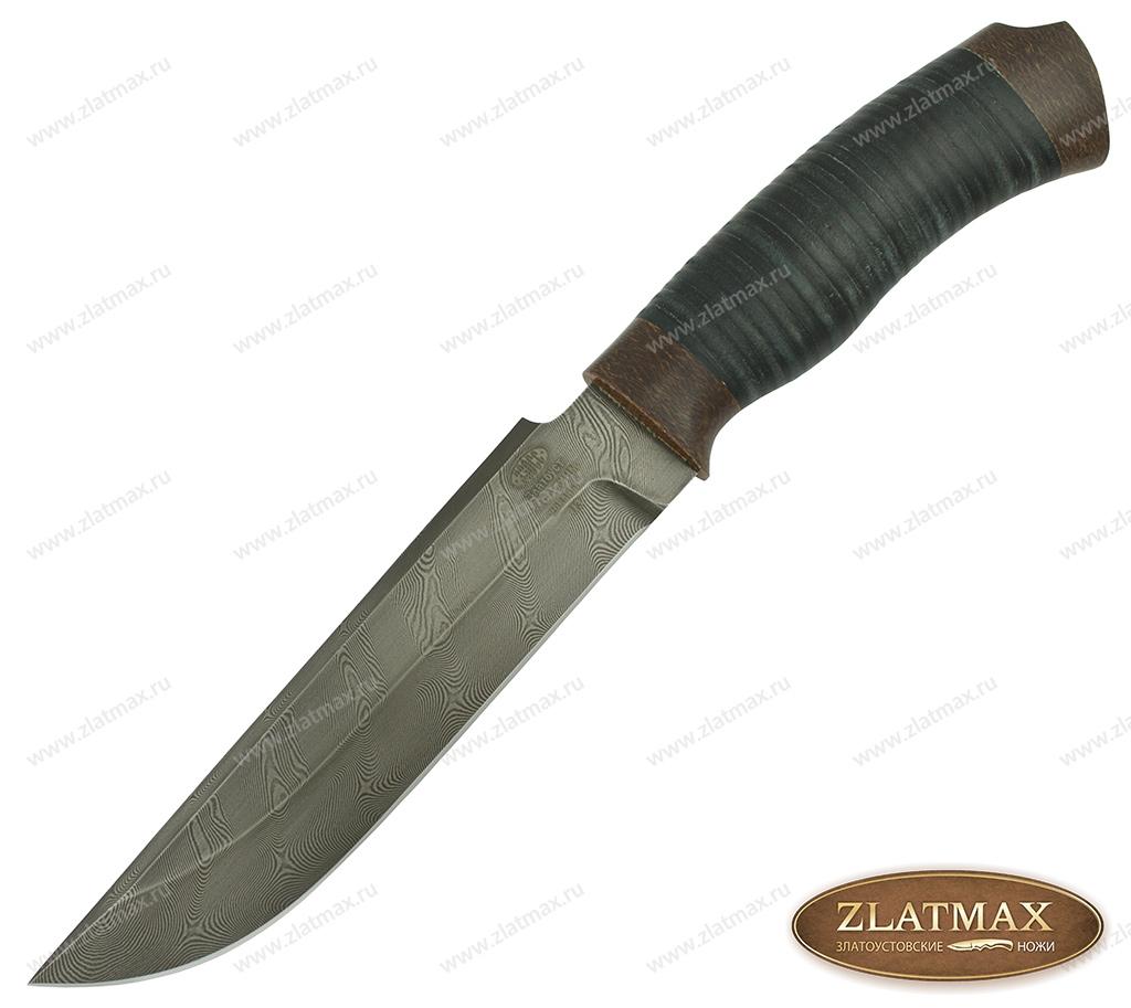 Нож Н3 Гумбольт (У10А-7ХНМ, Наборная кожа, Текстолит) фото 01