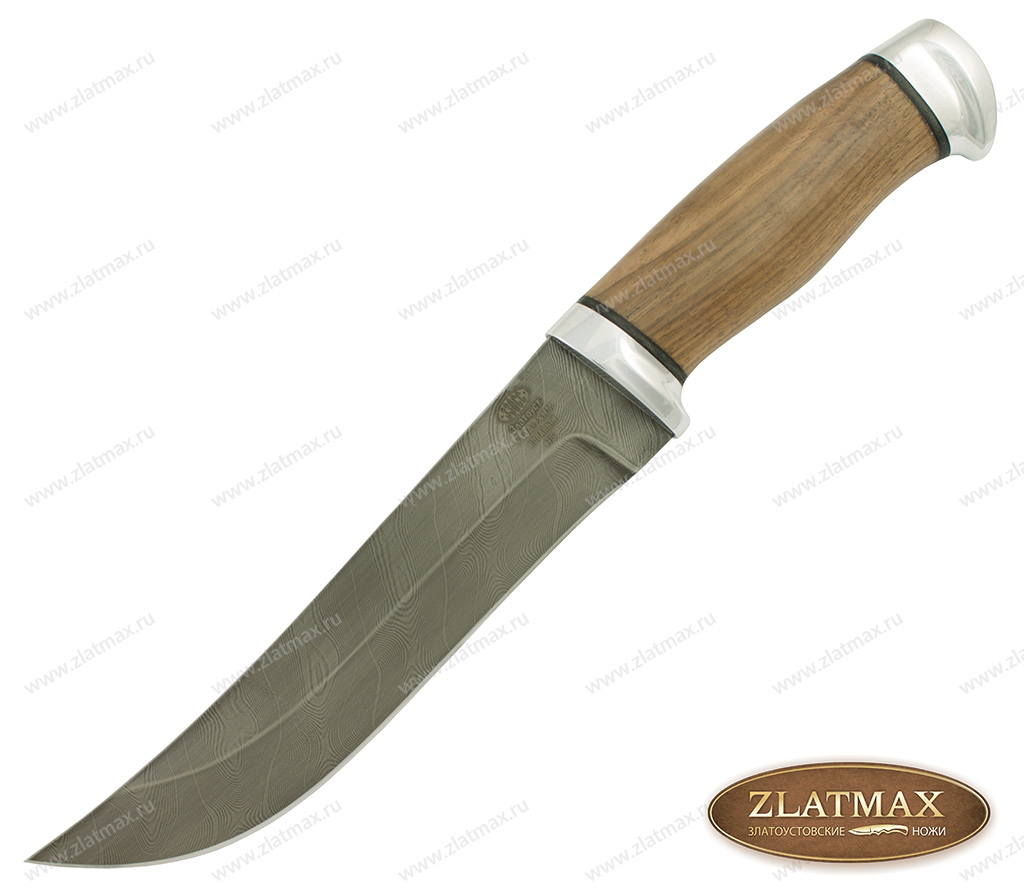 Нож Н5 (У10А-7ХНМ, Орех, Алюминий) фото 01