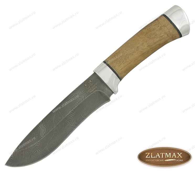 Нож Н6 (40Х13-Х12Ф1, Орех, Алюминий, Алюминий) фото 01