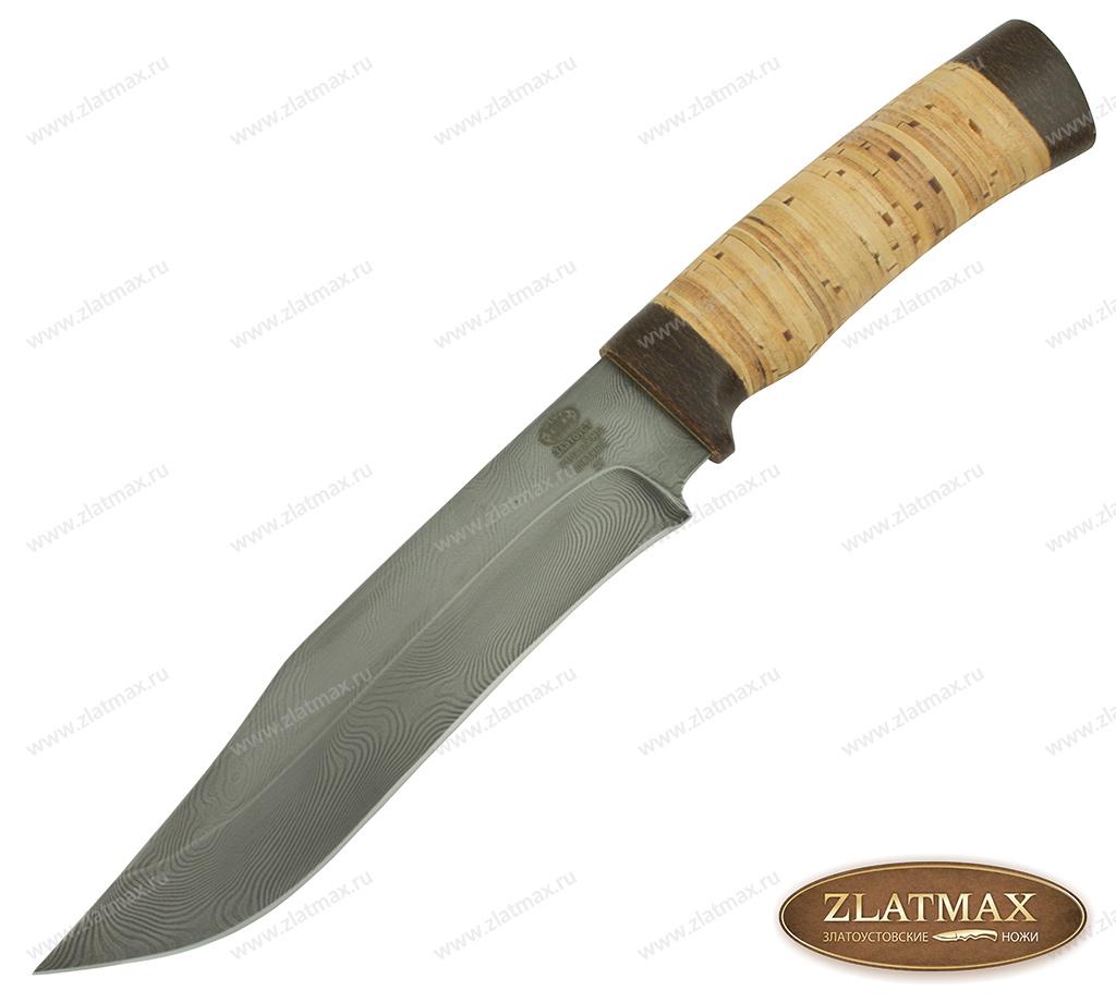 Нож Н7 (У10А-7ХНМ, Наборная береста, Текстолит) фото 01