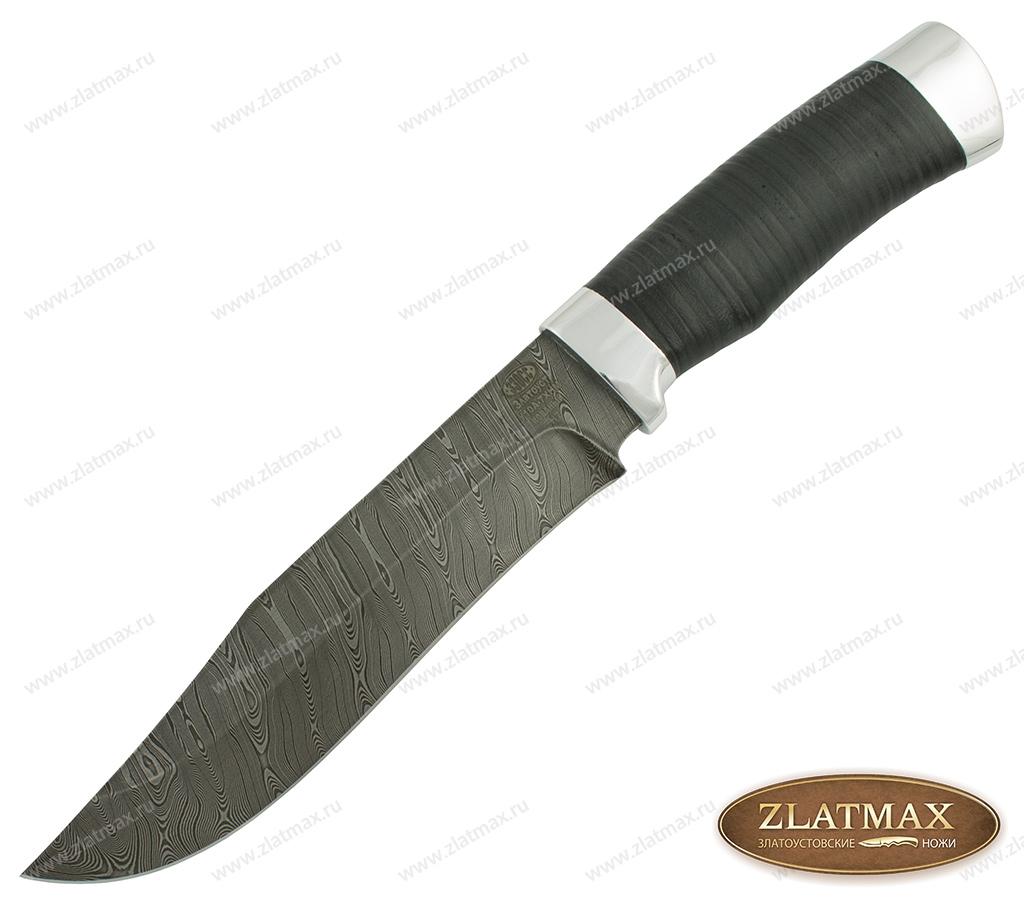Нож Н7 (У10А-7ХНМ, Наборная кожа, Алюминий) фото-01