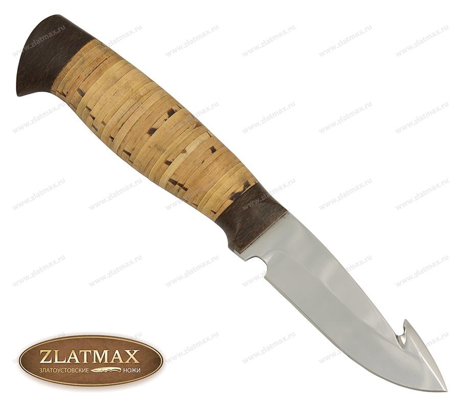 Нож НР21 (40Х10С2М, Наборная береста, Текстолит) фото 01