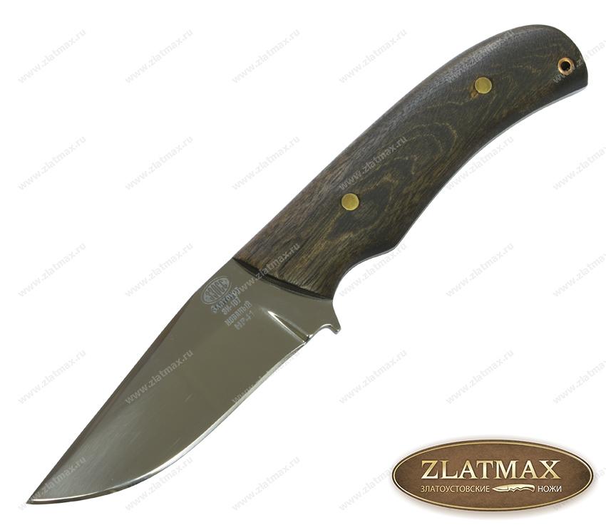 Нож НР 41 (40Х10С2М, Накладки орех) фото 01