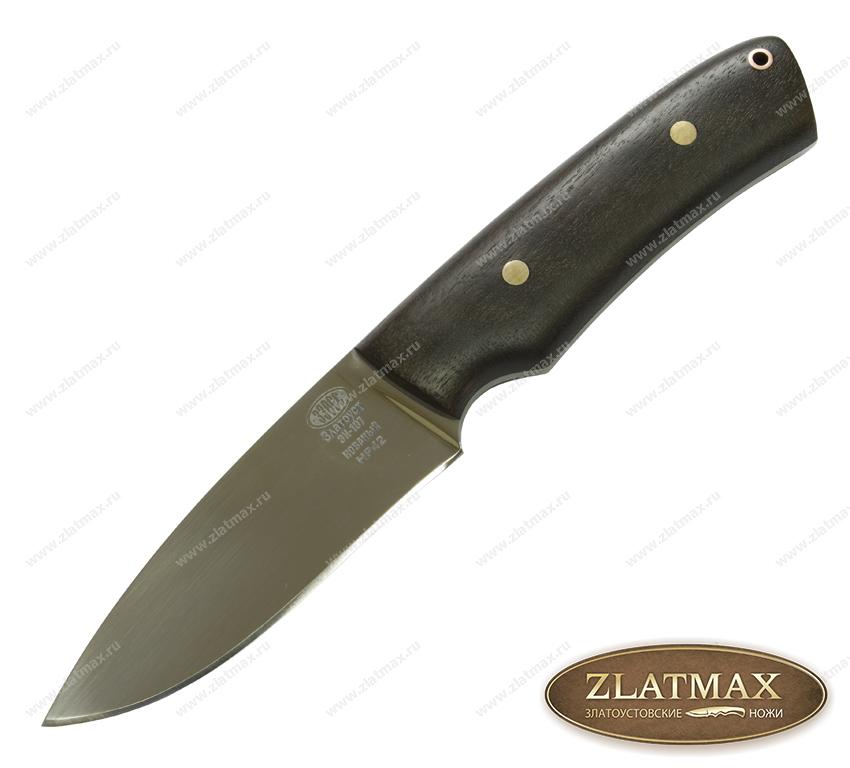 Нож НР 42 (40Х10С2М, Накладки орех) фото-01