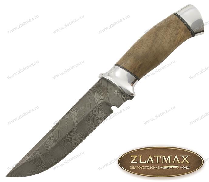 Нож Н8 Спецназ (У10А-7ХНМ, Орех, Алюминий) фото 01