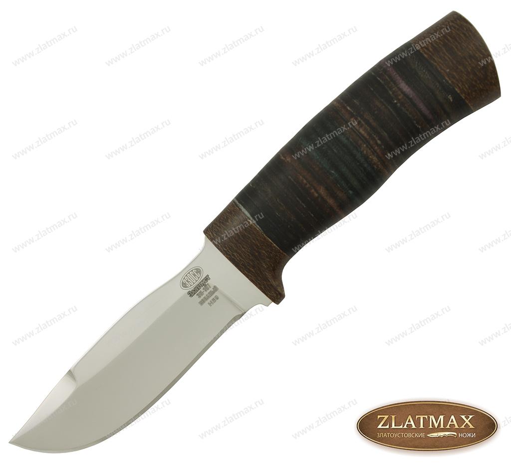 Нож Н59 (40Х10С2М, Наборная кожа, Текстолит) фото 01