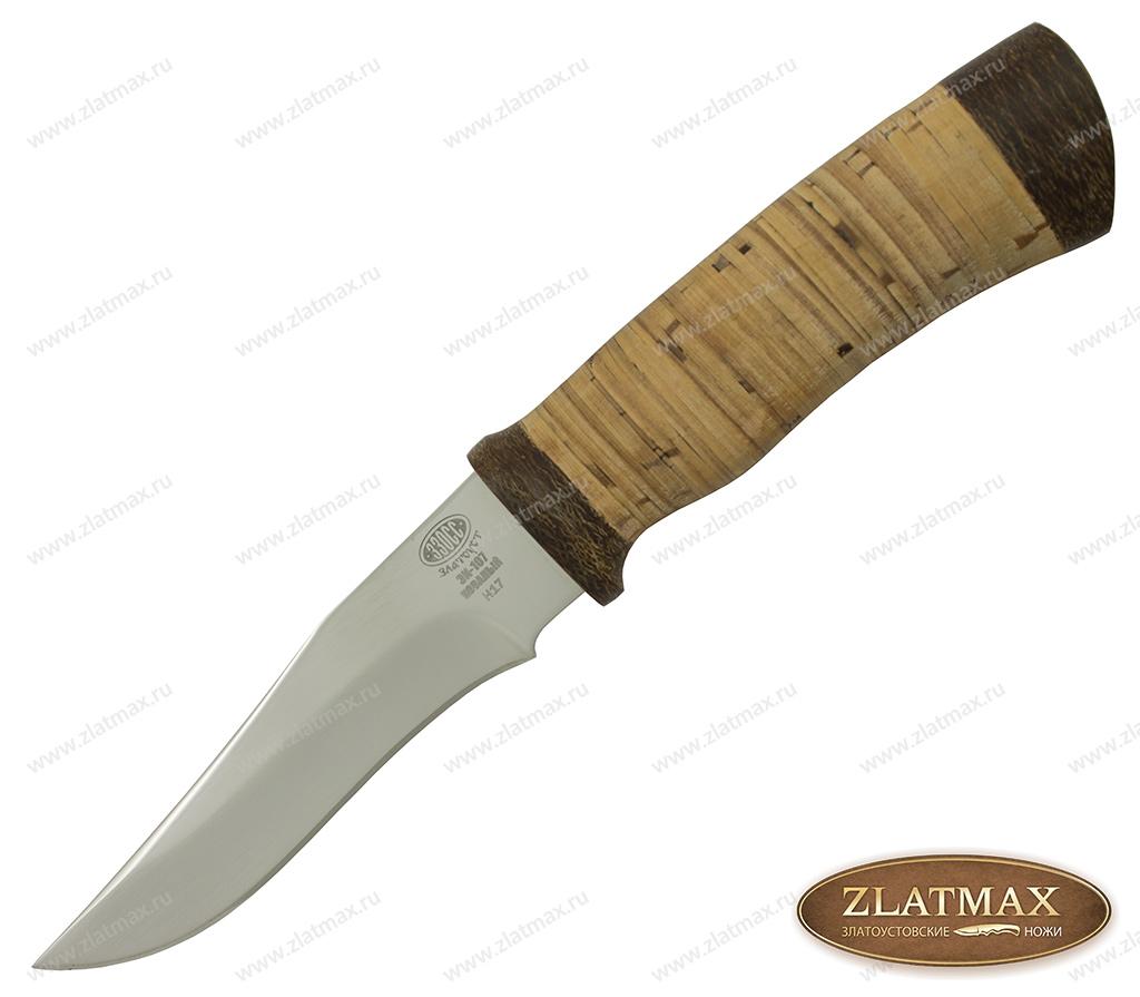 Нож Н17 (40Х10С2М, Наборная береста, Текстолит) фото 01