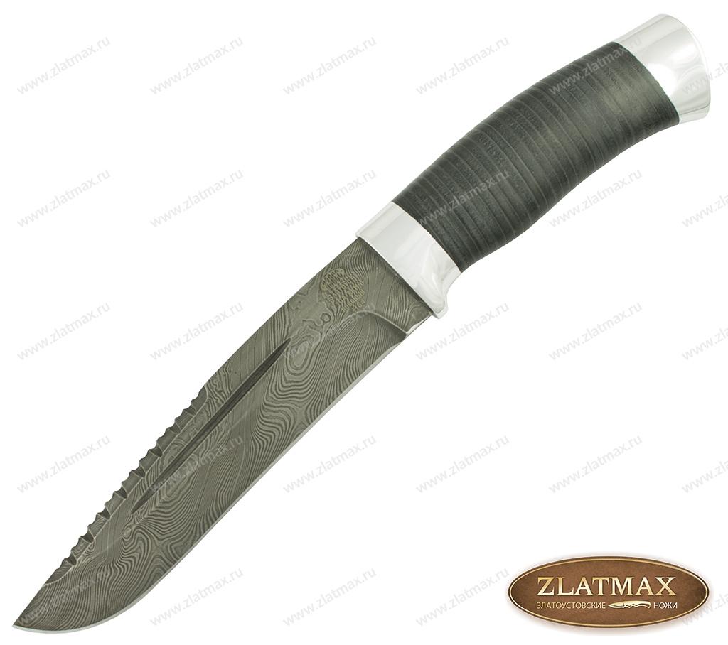 Нож Н64 (У10А-7ХНМ, Наборная кожа, Алюминий) фото 01