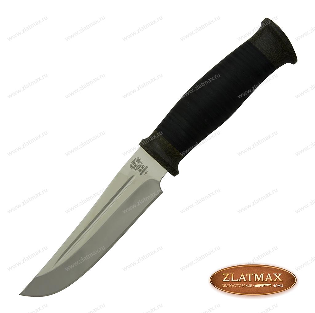 Нож Н81 (40Х10С2М, Наборная кожа, Текстолит) фото-01